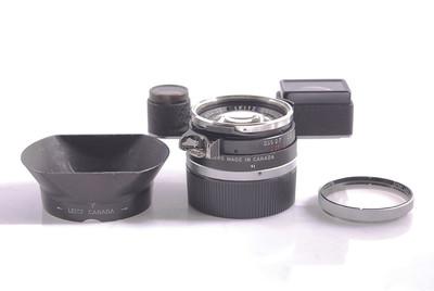 徕卡 Leitz Summilux M 35/1.4 黑钢嘴  #HK7366