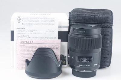 98新 适马 35mm f/1.4 DG HSM 尼康卡口