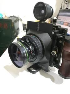 国产4x5广角机 75/4.5罗敦斯德镜头