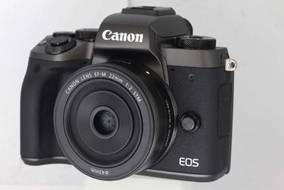 【微单数码相机】佳能 EOS M5+EF M22/2 STM套机(0358 5958)