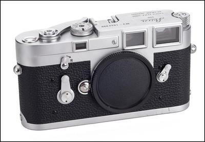 徕卡 Leica M3 单拨 银色机身 刚保养过 保修1年!