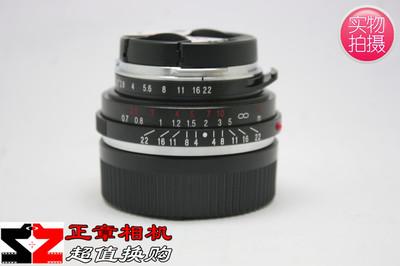 福伦达饼干头 35 2.5 VM 35mm F/2.5 ⅡP 徕卡M口35/2.5品相极好