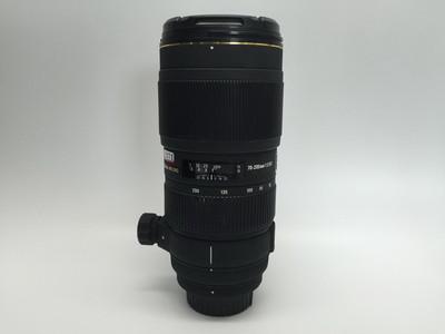80新适马 APO 70-200mm f/2.8 II  四代小黑 70-200尼康口