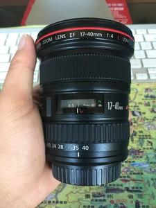 佳能 EF 17-40mm f/4L USM 17-40  UB编号  成色99新