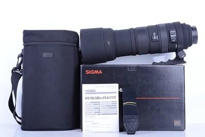 94新二手Sigma适马 150-500/5-6.3 OS HSM尼康口老图层B2622京