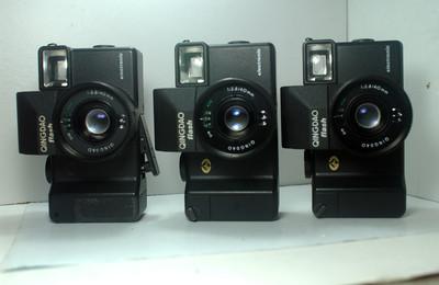 处理三个青岛6照相机