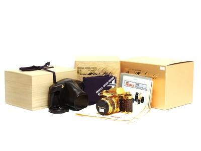 宾得/Pentax LX 24K金限量版套机 连50/1.2镜头 *美品连盒*