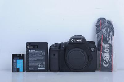 95新二手 Canon佳能 7D 单机 中端单反相机(B3666)【京】