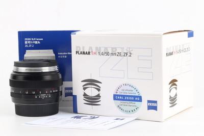 全新 卡尔·蔡司 Planar T* 50mm f/1.4 ZF.2