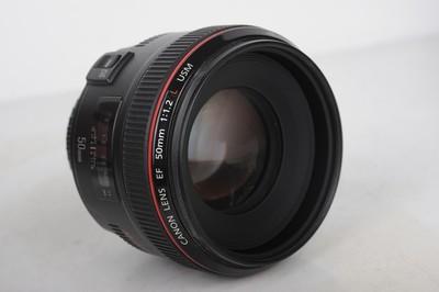 佳能 EF 50mm f/1.2L USM定焦镜头