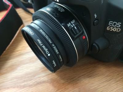 佳能 650D  40mm 2.8f