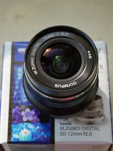 奥林巴斯 M.ZUIKO DIGITAL ED 12mm f/2.0 Limited Black