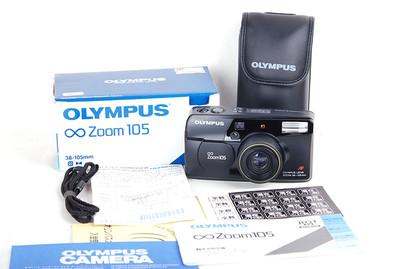 奥林巴斯 ∞ Zoom 105 Panorama 黑色带包装 #jp17525