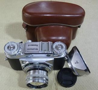 福伦达 Nokton 50/1.5 至尊带胶片机身 相机皮盒 配M口接环