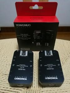永诺YN-622C 无线E-TTL触发器(佳能口,一对两只)