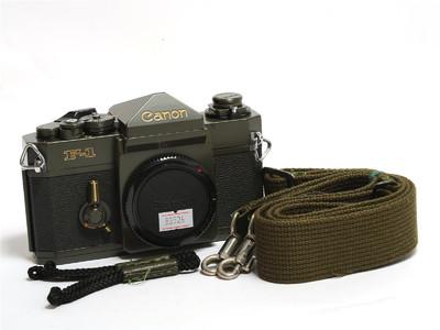 佳能/Canon F-1 相机 军绿版 *超美品*