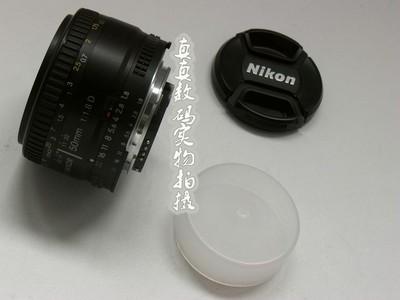 成色极好 原装尼康AF 50 F1.8 D 标准人像头 支持置换5897