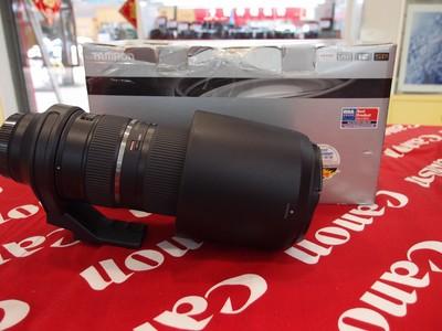 98新 腾龙150-600mm5-6.3 VC 佳能口 ,成色新净,带包装盒!