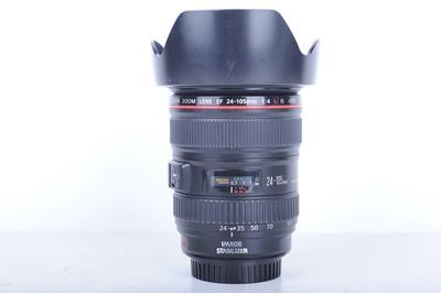 95新二手Canon佳能 24-105/4 L IS USM 防抖镜头(B0746)【京】