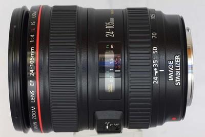 【全画幅标准变焦镜头】佳能 EF 24-105/4L IS USM(NO:8222)
