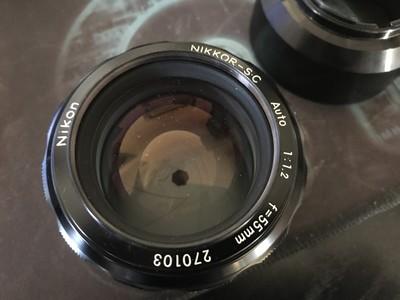 出售尼康AUTO 55 F1.2 AI镜头
