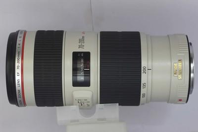 【中长焦镜头】佳能 EF 70-200/4L IS USM(小小白IS)(NO:6653)