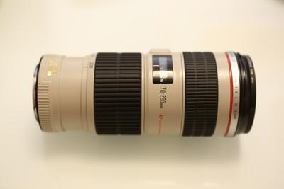 99新 充新 佳能 EF 70-200mm f/4L IS USM(小小白IS)