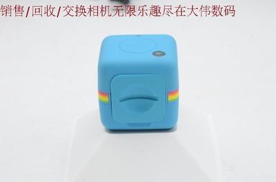 新到 Polaroid/宝丽来 CUBE+运动相机 蓝色 带WIFI 编号8451