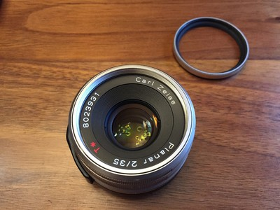 康泰时contax G35镜头