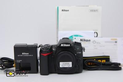 98新 尼康 D7000 行货带保卡 (BG08210004)