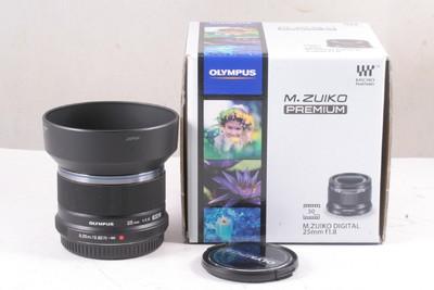 99/奥林巴斯 M.ZUIKO DIGITAL 25mm f/1.8 ( 带包装 )