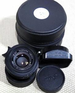 LEICA/徕卡 SUMMICRON-M 35/2 七枚玉 后期方字版 德产