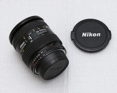 尼康二代自动聚焦 24-50mm f/3.3-4.5D变焦镜头