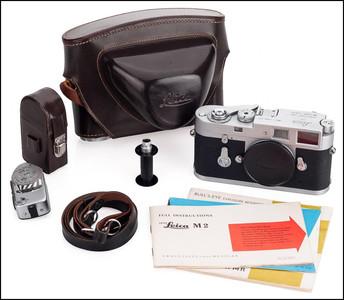 徕卡 Leica M2 银色 带测光表 皮套 刚保养过 保修1年!