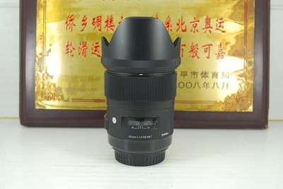 98新 佳能口 适马 35mm F1.4 ART HSM 单反镜头 定焦人像 新款