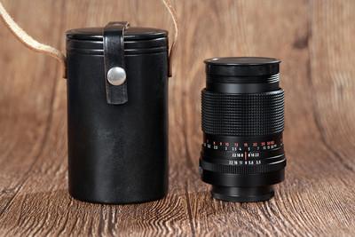 东蔡三剑客 东蔡135 3.5 MC CJZ135 3.5 镜头 99新带原装皮桶