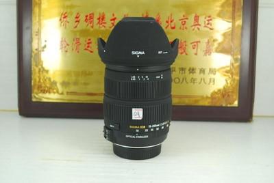 99新 尼康口 适马 18-200 F3.5-6.3 OS HSM 单反镜头 防抖挂机