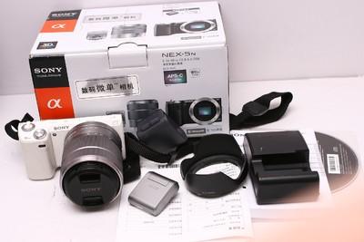 索尼NEX5N带索尼18-55套机 索尼NEX-5N 索尼E18-55 98新 带包装