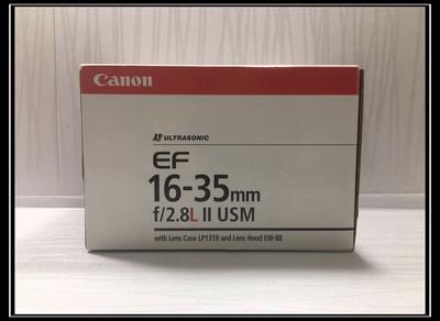 【天津瑞亚】98新 带包装 佳能 EF 16-35/2.8L II USM镜头