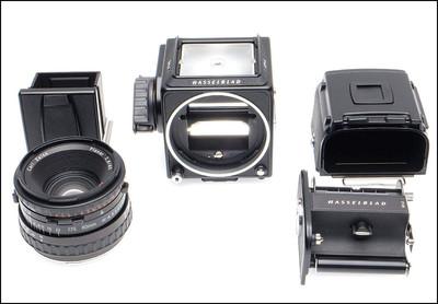 哈苏 Hasselblad 501CM + 80/2.8 CFE + A12最后期 黑色套机