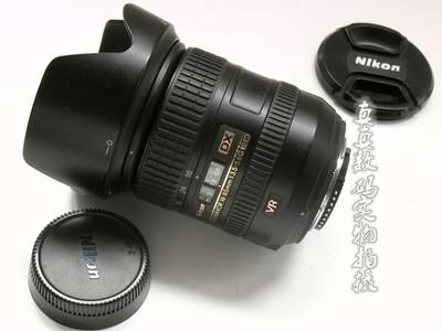 成色很好原装尼康16-85 F3.5-5.6G ED VR小牛头带原装遮光罩#2854