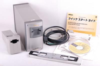 尼康 5000ED+SA-21/MA-21适配器 底片扫描仪#jp18291