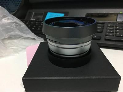 富士 WCL-X100二代广角转换镜头(含副厂遮光罩)