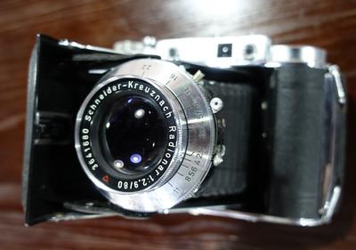 Franka Solida III 80/2.9雷丁娜 66中画幅折叠相机