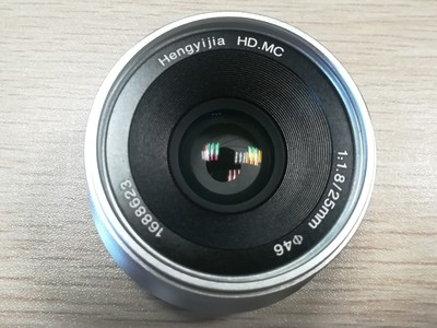 恒艺佳 25mm  f1.8 E卡口