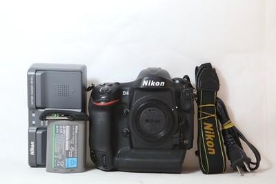 11新二手Nikon尼康 D4 单机 快门33500多次(T10113)【津】