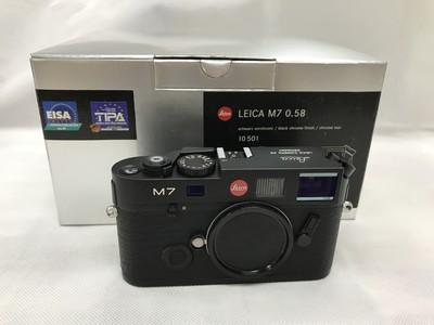 98新Leica徕卡M7黑色 0.58 包装齐全