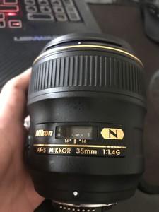 95新尼康 AF-S Nikkor 35mm f/1.4G