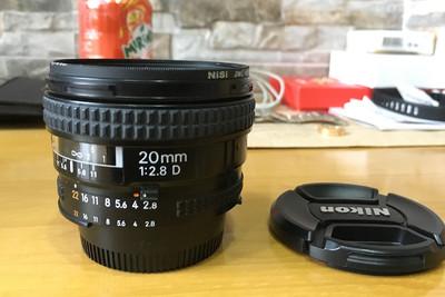 上海本地出闲置好成色尼康 AF 20mm f/2.8D