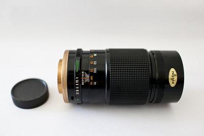 佳能 200mm/F4 手动定焦镜头(M42口)